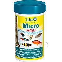 Tetra Micro Pellets корм в виде пеллетов для декоративных рыб небольшого размера 100мл