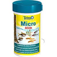 Tetra Micro Sticks корм в форме палочек для декоративных рыб небольшого размера 100мл