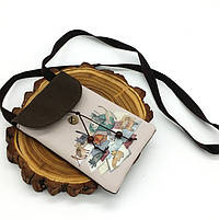Жіноча сумка-гаманець Cats текстильна