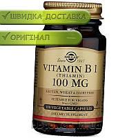 Витамин В1 Solgar Vitamin B 1 100 mg 100 капс