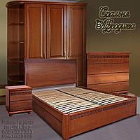 """Спальный гарнитур """"Афродита"""" мебель для спальни. Белая, красивая, деревянная спальня"""