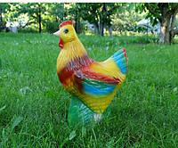Курица - керамическая садовая фигура для сада