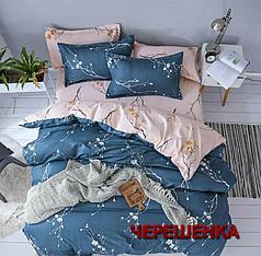 """Семейный набор хлопкового постельного белья из Бязи """"Gold"""" №156081AB Черешенка™"""