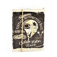 Обложка для водительских прав Vintage Motorcycle, фото 1