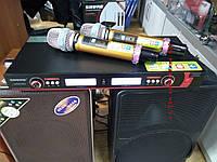 Микрофоны UGX9 Shure радоиосистема на 2 вокальных радиомикрофона, фото 1