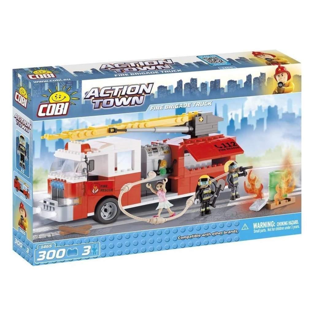 Конструктор Cobi Пожарная машина 300 деталей (COBI-1465) (5902251014650)