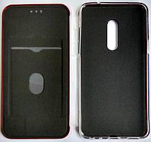 Чехол-книжка '' Classy & Level '' Meizu 15 красный, фото 3