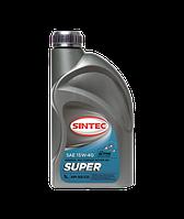 Масло ДВС 15W-40 SINTEC Супер SG/CD,   1л, минерал