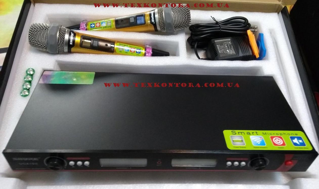 Микрофоны UGX10 Shure радоиосистема на 2 вокальных радиомикрофона