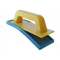 Шпатель Litokol гладкий пластмасовий для нанесення Starlike Decor (103G0001), Жовтий