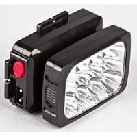 Налобный фонарь аккумуляторный yajia YJ 1837 12 LED