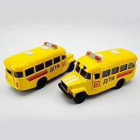 Модель авто КАВЗ детский автобус со светом и звуком