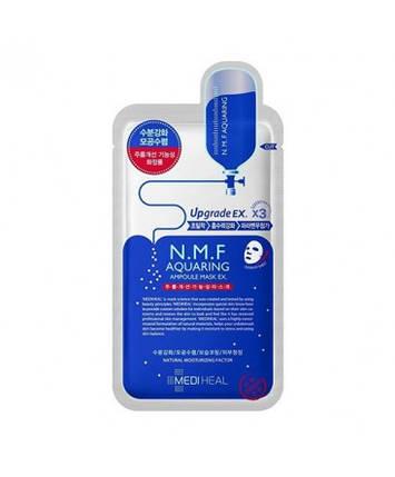 Маска для лица увлажняющая MEDIHEAL N.M.F aquaring ampoule mask, 1 шт, фото 2