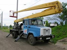 Аренда автовышки в Киеве (22 метра)
