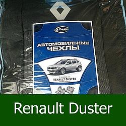 Чехлы на Рено Дастер (раздельный) 2015- / автомобильные чехлы Renault Duster (эконом)