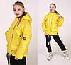 Детские куртки для девочек лаковые весна осень, фото 10