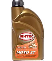 Масло ДВС Moto 2T SINTEC 1л, п/синт