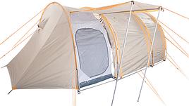 Палатка туристична восьмимісний КЕМПІНГ Caravan 8+ (290х230х180см)