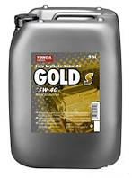 Моторное масло Teboil Gold S 5w-40 (20л.)/синтетика, отлично подходит для дизельных двигателей Opel, BMW и др.