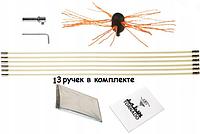 Роторный набор Торнадо HANSA (SAVENT TURBO) – эффективная, быстрая, простая чистка дымохода от смолы, сажи