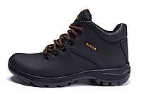 Мужские зимние кожаные ботинки E-series Infinity (реплика), фото 1
