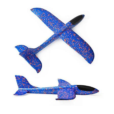 Планер метательный SUNROZ Большой 48 см, летающий саолетик, плнер, самолет, детский планер, детский самолет, фото 2