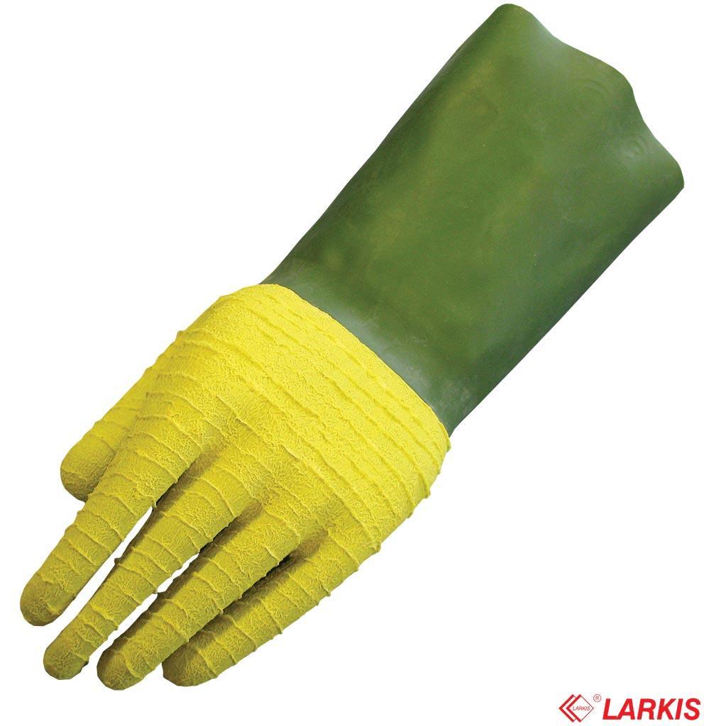 Защитные перчатки изготовленные из латекса LUDWIK ZY