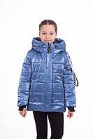 Куртка весна-осень девочка от производителя  36-44 Голубой