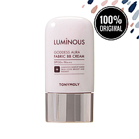 BB крем для лица с эффектом сияния TONY MOLY Luminous Goddess Aura Fabric BB Cream SPF50+, 40 мл