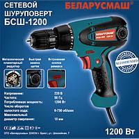 Шуруповёрт сетевой Беларусмаш 1200 Вт