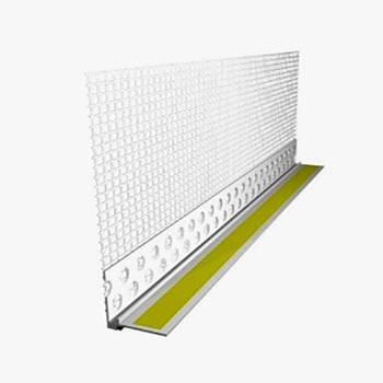 Планка ПВХ приоконная с сеткой 2.4м