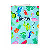 Обложка для паспорта Тропики
