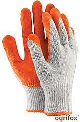 Перчатки защитные, покрытые резиной OX-UNIWAMP WP