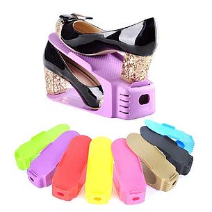 Двойная подставка для обуви Double Shoe Racks, органайзер для обуви, подставки для обуви, фото 2
