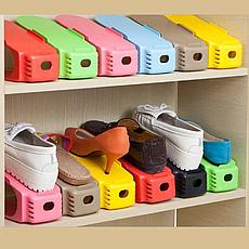 Двойная подставка для обуви Double Shoe Racks, органайзер для обуви, подставки для обуви, фото 3