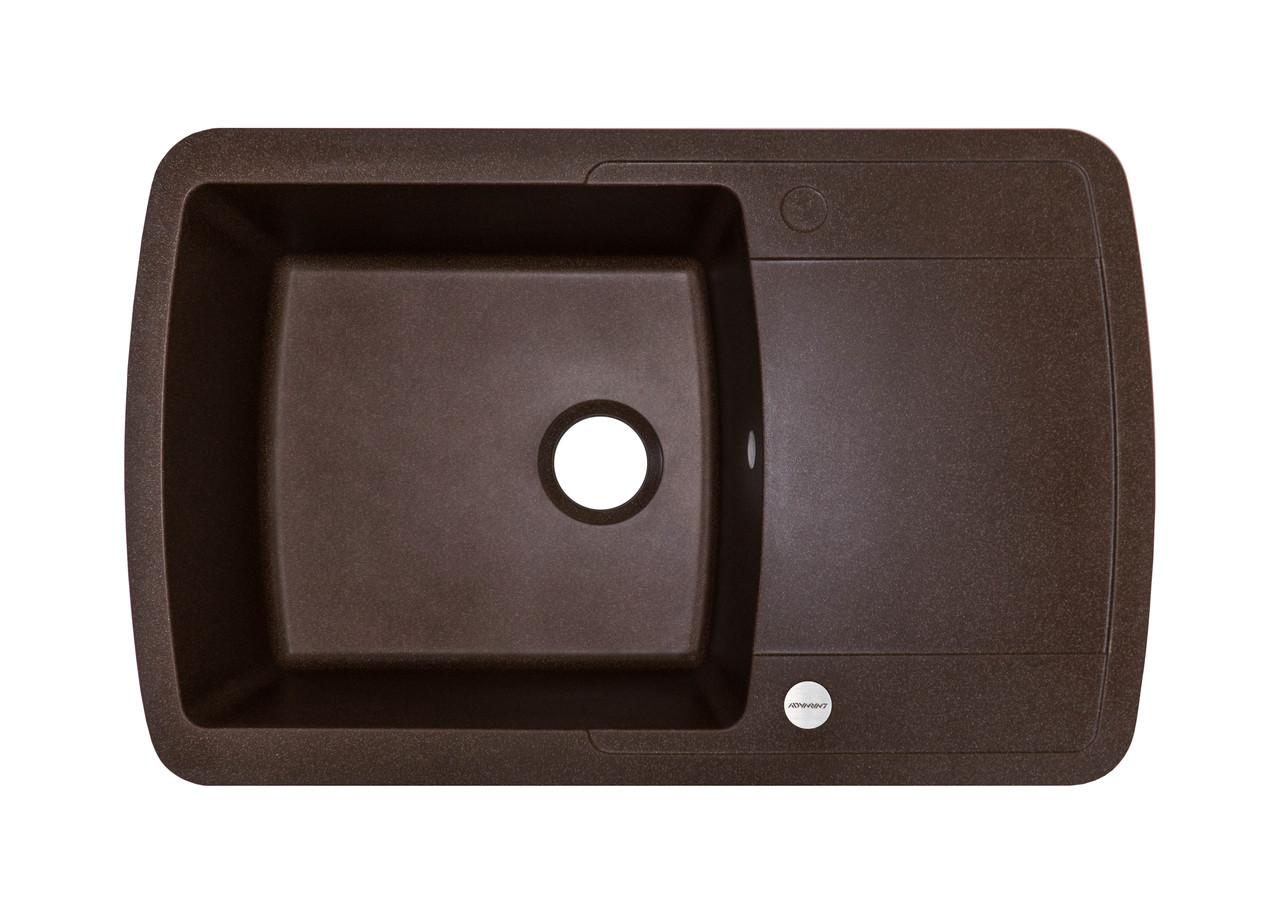 Мойка для кухни коричневая 78*50*20 см ADAMANT OPTIMAKS (коричневый)