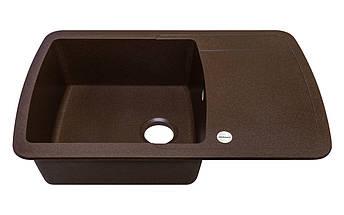 Мойка для кухни коричневая 78*50*20 см ADAMANT OPTIMAKS (коричневый), фото 2