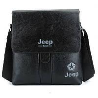 Мужская сумка Jeep Buluo черная, фото 1
