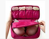 Органайзер для белья и косметики - Розовый, фото 2