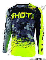 Джерси SHOT CONTACT COUNTER GREY NEON YELLOW