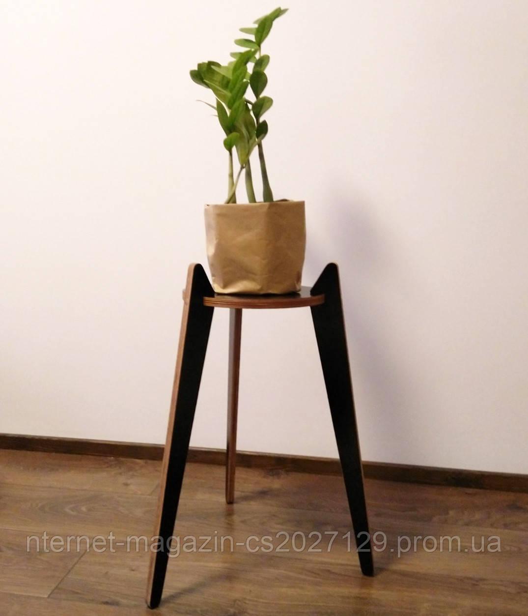 Цветочная подставка для комнатных растений из фанеры