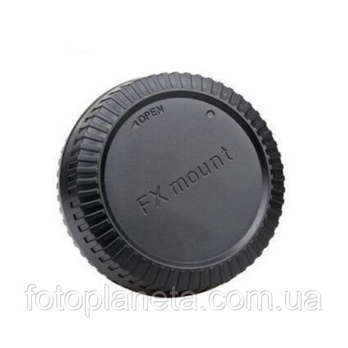 Задняя крышка для объектива FujiFilm с байонетом FX mount