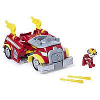 Ігровий набір Paw Patrol Пожежна машина трансформер Супер герой Маршалл Mighty Pups Super Paws Marshall