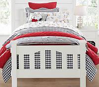 Детская подростковая кровать Кендал из натурального дерева!