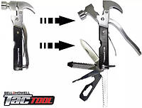 Мультитул плоскогубцы молоток Multi hammer Megahertz TacTool 18 в 1