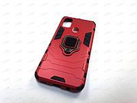 Противоударный чехол IronMan Samsung Galaxy M30S (красный)