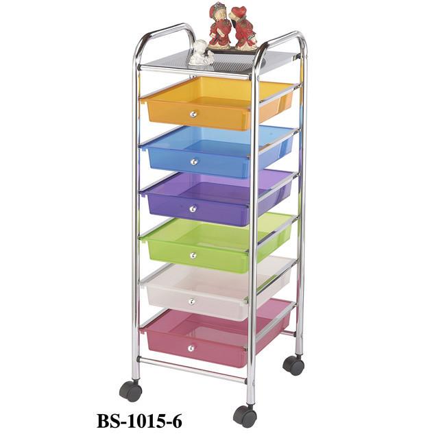 Столик сервировочный-тележка с ящиками Onder Metal BS-1015-6