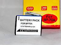 Аккумулятор BP70A (BP-70A, BP-70EP, EA-BP70A, EA-BP70A, SLB-70A) для камер SAMSUNG - 750 ma