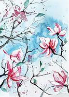 """Весняна листівка """"Квітуча"""""""