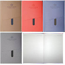 Ежедневник-блокнот А5, 25-128, КАРМАН, 80 стр., 100 гр., недатированный., линия